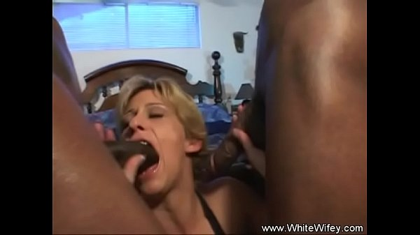 Interracial anal, Threesome anal