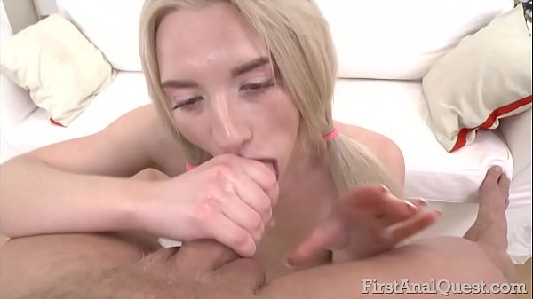 Young anal, Blonde anal