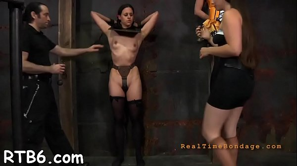 Caning, Tied up