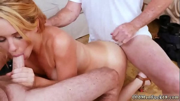 Old man, Forest, Young girls, Old and young, Gangbang girl