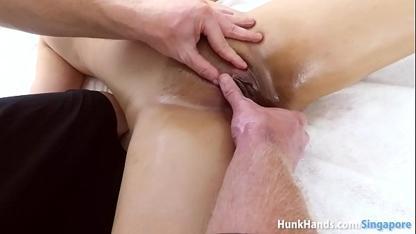 Oiled, Oil massage, Asian squirting
